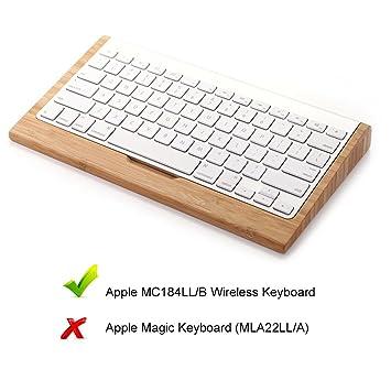 Emplazar® iMac teclado soporte, soporte de madera soporte de teclado Dock stents soporte para