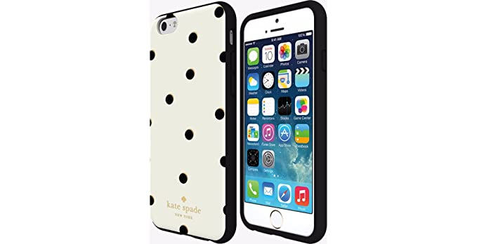 competitive price 4ca76 a5d91 Amazon.com: Kate Spade New York Flexible Hardshell Case for iPhone 6 ...