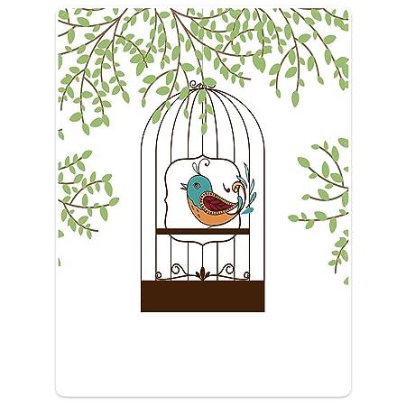 Super suave Mantas sofá cama manta cálida ramas jaula de pájaro de ...