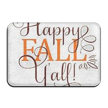 amazon dcvrew anti slip door mat happy fall y all bedroom entrance