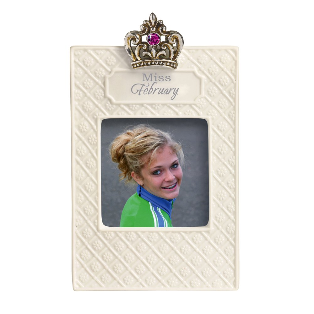 Grasslands Road Everyday Life Photo Frame, Miss February, 2.5 by 2.5-Inch