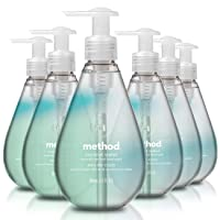 Deals on 6-Pack Method Gel Hand Wash, Coconut Water 12 Fl Oz