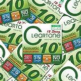 Cleartone 12-String Acoustic Guitar Strings Phos. Bronze - LT 10-47 - 12 Packs