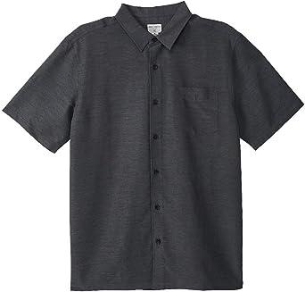 ONEILL Jack Shadowvale - Camisa de manga corta con botones para hombre - Gris - Large: Amazon.es: Ropa y accesorios
