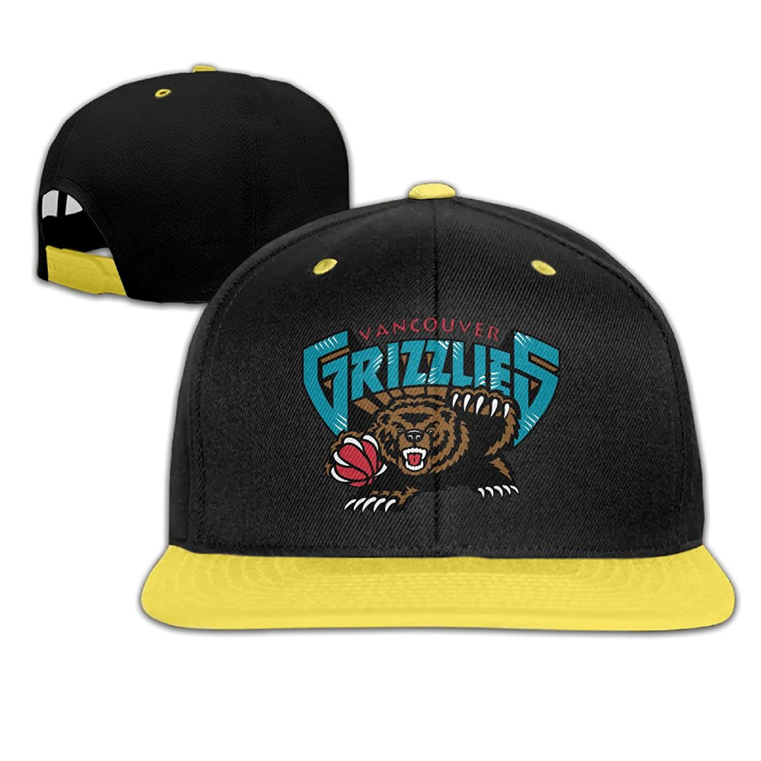 Child Unisex Baseball Hat Vancouver Grizzlies Adjustable Snapback Red