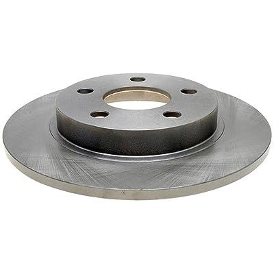 ACDelco 18A953A Advantage Non-Coated Rear Disc Brake Rotor: Automotive