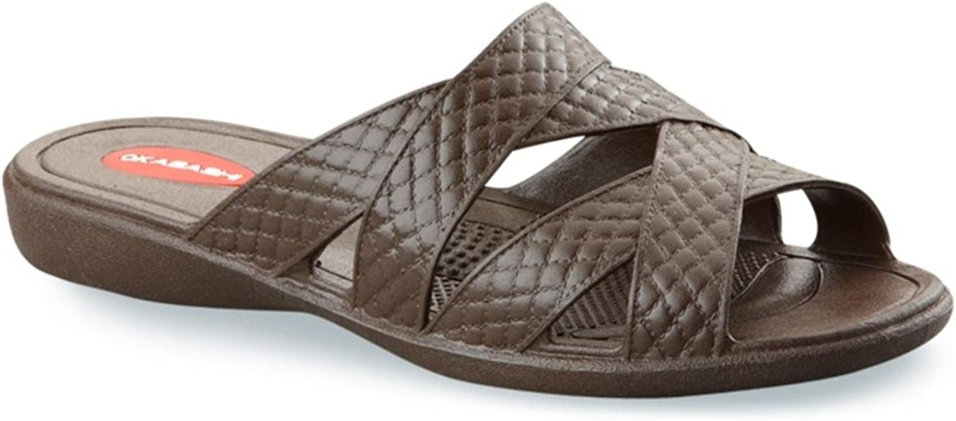 743fa94790190f Okabashi Women s Cross Strap Sandals