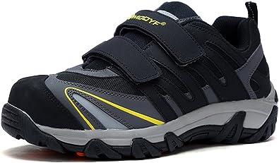 MODYF Men's Steel Toe Shoes, Work