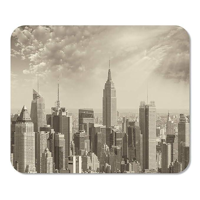 Mousepad Bloc de Notas Oficina Maravillosa Vista aérea en Blanco y ...