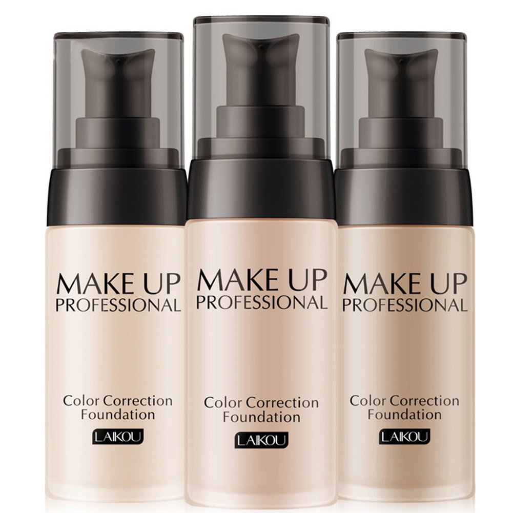 ThinkMax Foundation Makeup Base Liquid Foundation BB Cream Concealer Moisturizer Oil-control Lasting Nude Make-up