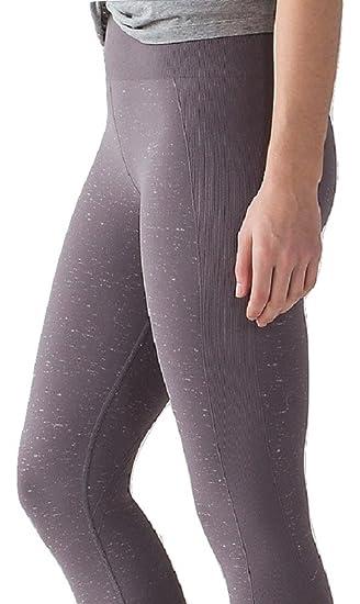 Lululemon Free to Flow Crop Pantalones de Yoga, 10, Magnum ...