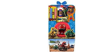 Amazon dinotrux easter gift set filled with outdoor toys and dinotrux easter gift set filled with outdoor toys and candy perfect easter basket for boys 3 negle Images