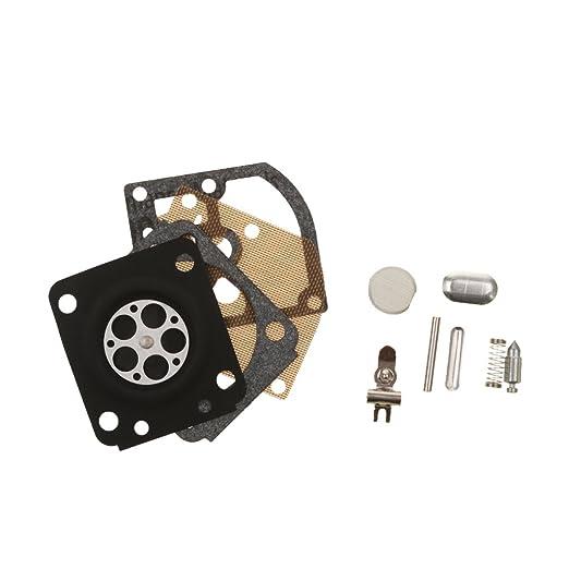 Carburador Ricostruire Kit de reparación Repuesto para cortacésped ...