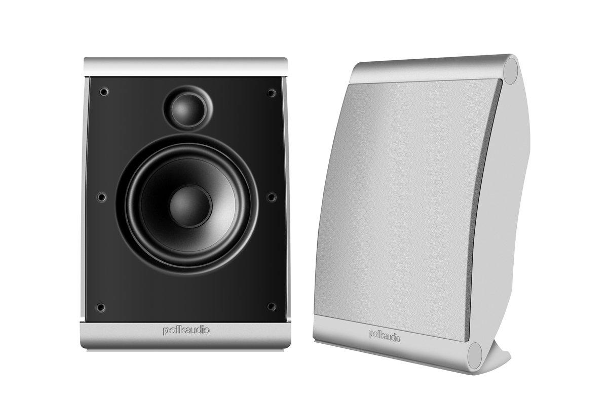Amazon.com: Polk Audio OWM3 On-Wall Speaker (Pair, White): Home ...
