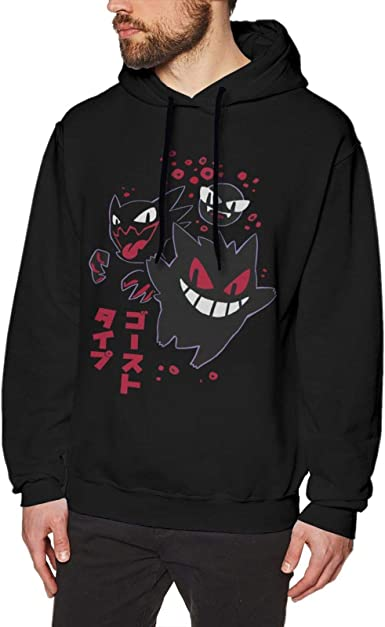 Gengar Stay Safe Hoodie Sweater Unisex Mens /& Women/'s Clothing Christmas Gifts Retro Hoodies Video Game Clothing Graphic Hoodies