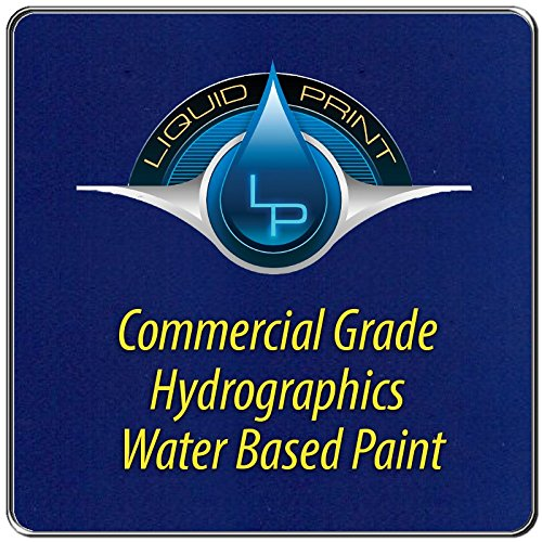 Bright Blue Hydrographics Paint - 1 Quart - Water Based - Liquid Print Hydrographics Paint Supplies by Liquid Print