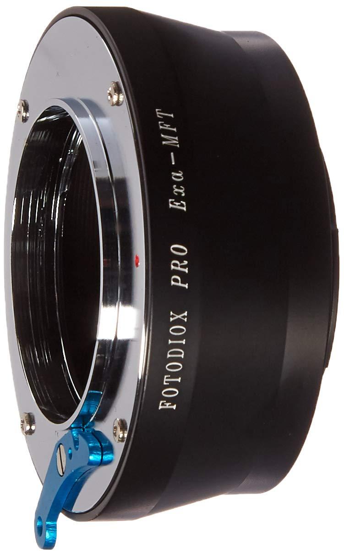 de Micro c/ámaras Auto Topcon a Olympus y Panasonic Exakta exakta-m4//3 Pro MFT Adaptador de Montura de Lente Fotodiox Pro