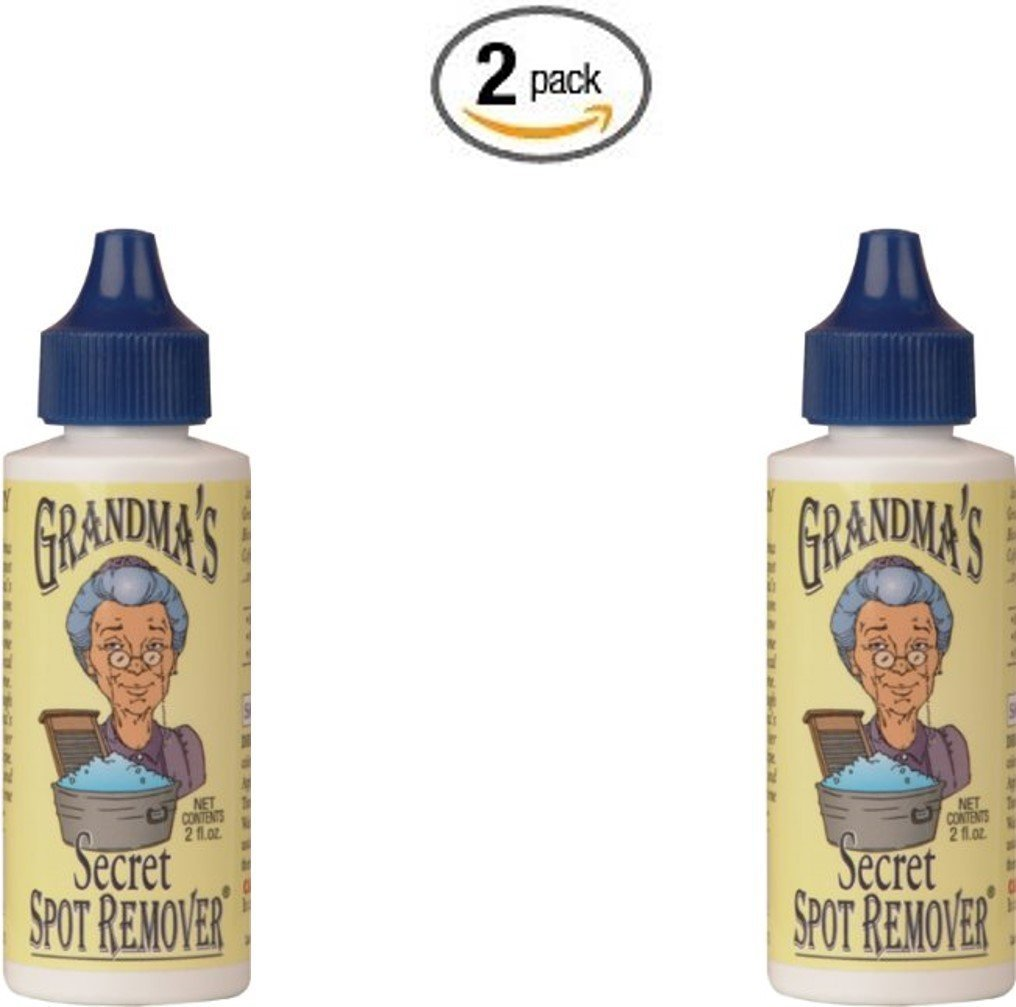 Grandmas Secret Spot Remover, 2-Ounce (4oz (2x 2oz))