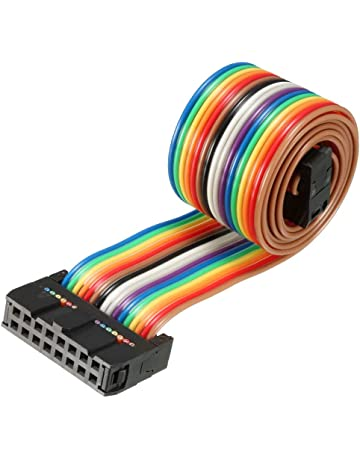 5Pcs For Raspberry Pi Gpio Header Flat Ribbon Cable Wire 26Pin 2.54MM Picth xv