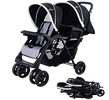 Amazon.com: safeplus plegable individual Baby carriola de ...