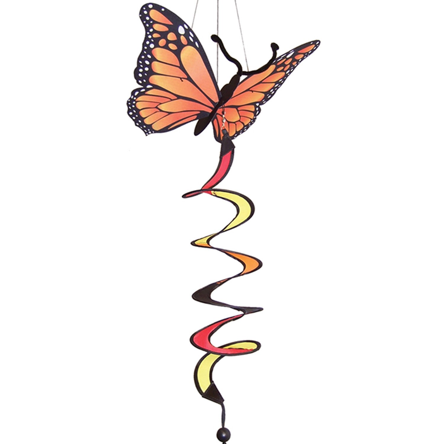 Mozlly Multipack - In the Breeze Orange Monarch Butterfly Theme 12 x 30 Twister (Pack of 6) by Mozlly