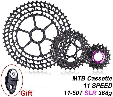 Velocidad SLR 11-50T Cassette de Bicicleta 11S Ultraligero CNC ...
