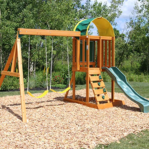 Big Backyard KidKraft Andorra Cedar Wood Swing Set / Playset F24140 by Big Backyard
