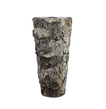 Amazon.com: Birch Bark Vase Tall Rustic 9
