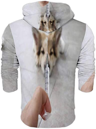 C COABALLA Veterinarian Prepare Syringe Vaccine Injection for Dog.Thailand,Ladies Full Zip Fleece with Pocket Rabies S