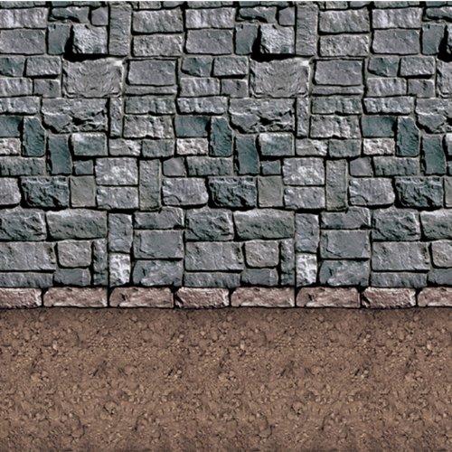 Dirt Floor Backdrop Party Accessory (1 count) (1/Pkg)]()