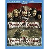 Pirates des Caraïbes : Jusqu'au bout du monde (Bilingual Blu-ray Combo Pack) [Blu-ray + DVD]