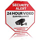 Camera Sign w/ Reflective & UV Waterproof Rust Free Coating – Warning Security Sign