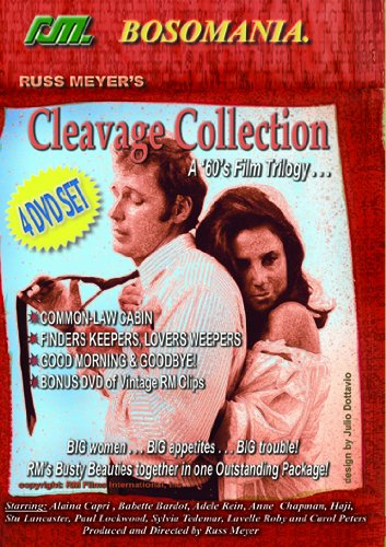 - Russ Meyer's Cleavage Collection 4-Disc Set
