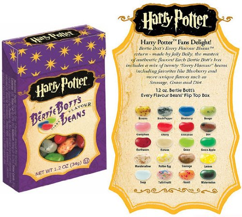 Harry Potter Bertie Bott's Every Flavour Jelly Belly Beans 1.2 OZ (34g) x3 -
