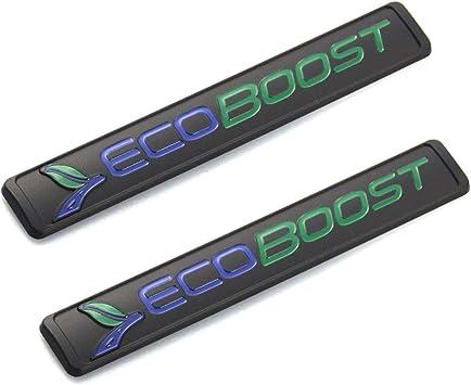 Sanucaraofo 2pcs OEM Ecoboost Badge Emblem 3D Nameplate ...