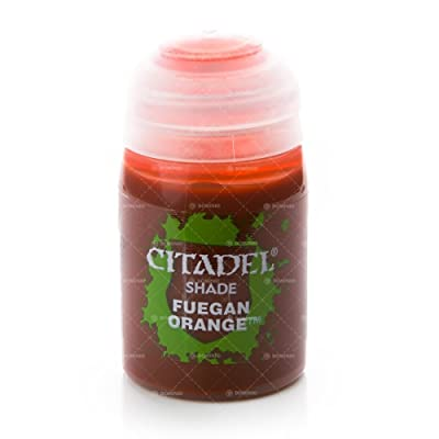 Games Workshop Citadel Shade Fuegan Orange: Toys & Games