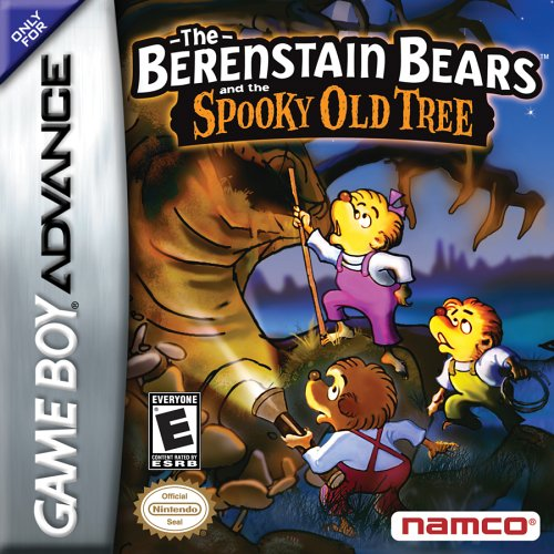 Berenstain Bears and the Spooky Old Tree - Game Boy (Old Game Boy)