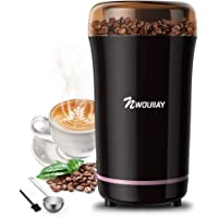 NWOUIIAY Molinillo de Café Eléctrico 300W Molinillos