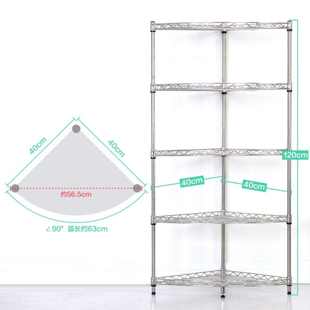 bathroom triangle shelf/washstand/Stainless steel bathroom floor to ceiling shelves/toilet bathroom shelf-J 60%OFF