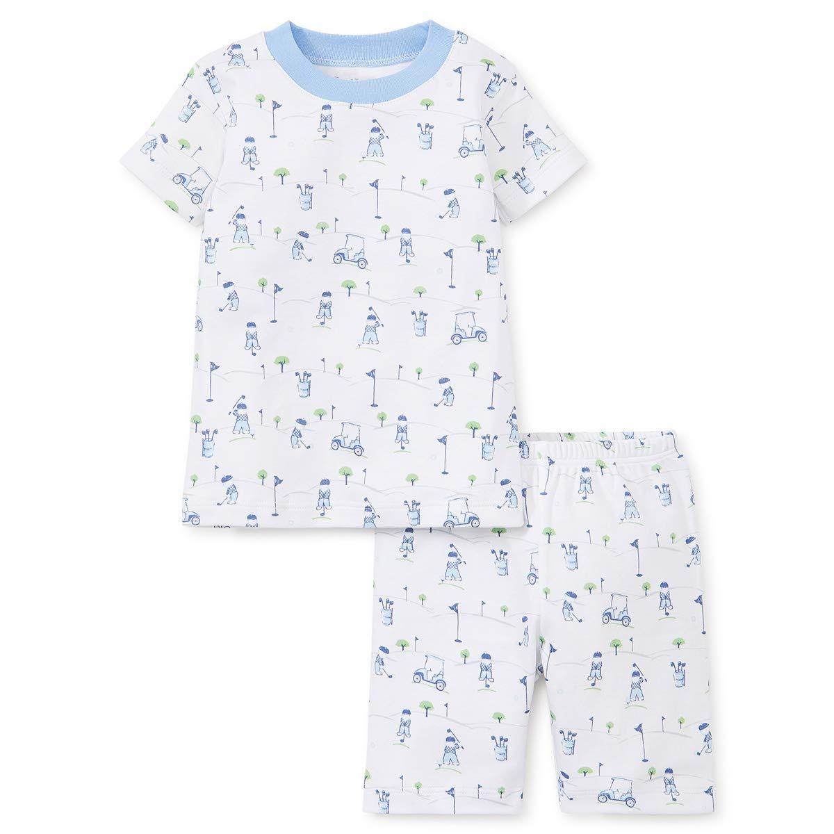 Kissy Kissy Baby-Boys Infant First Tee Print Short Pajamas Set