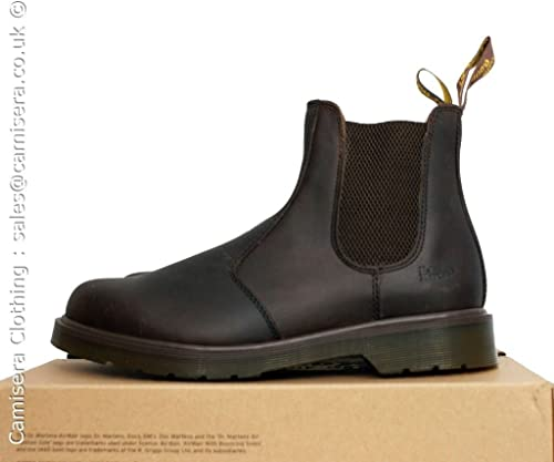 dr martens 2976 crazy horse bottines brun