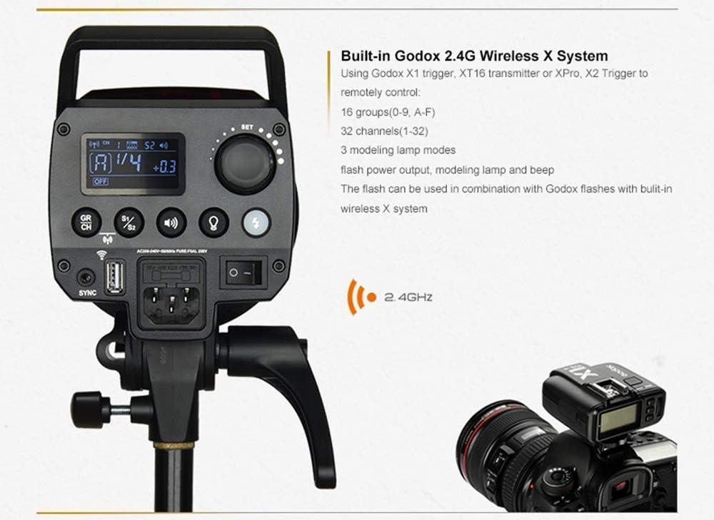 Godox FV150 150W Flash LED Lampe LED Vid/éo /éclairage Continue,1//8000 HSS avec avec T/él/écommande et R/éflecteur pour Canon Nikon Sony Fuji Panasonic Olympus et Pentax Cam/éra