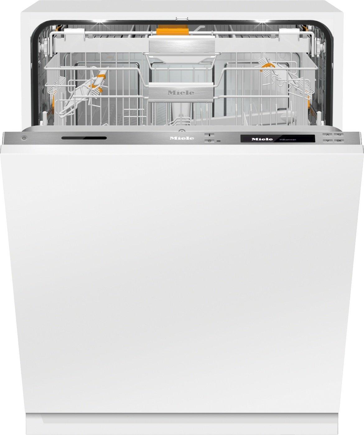 Miele G6997 SCVi XXL D ED230 2, 0 k2o Geschirrspüler Vollintegriert / A+++ / 189 kWh / 14 MGD / Automatische Türöffnung bei 2maligem Klopfen Knock2open / Einfachste Kommunikation [Energieklasse A+++] G6997 SCVi XXL D ED230 2