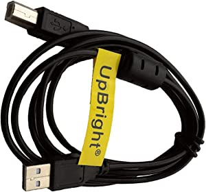 UpBright USB Cable Cord For HP Photosmart 2575 1000 1115 1215 D5160 D5460 A627 A636 A868 A512 A441 A442 A444 A445 A710 C5200 C3140 A626 A636 A616 A618 A440 A522 A310 A320 A432 A434 A516 Q7020A Printer