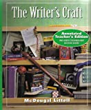 The Writer's Craft, Sheridan Blau, 0395863864