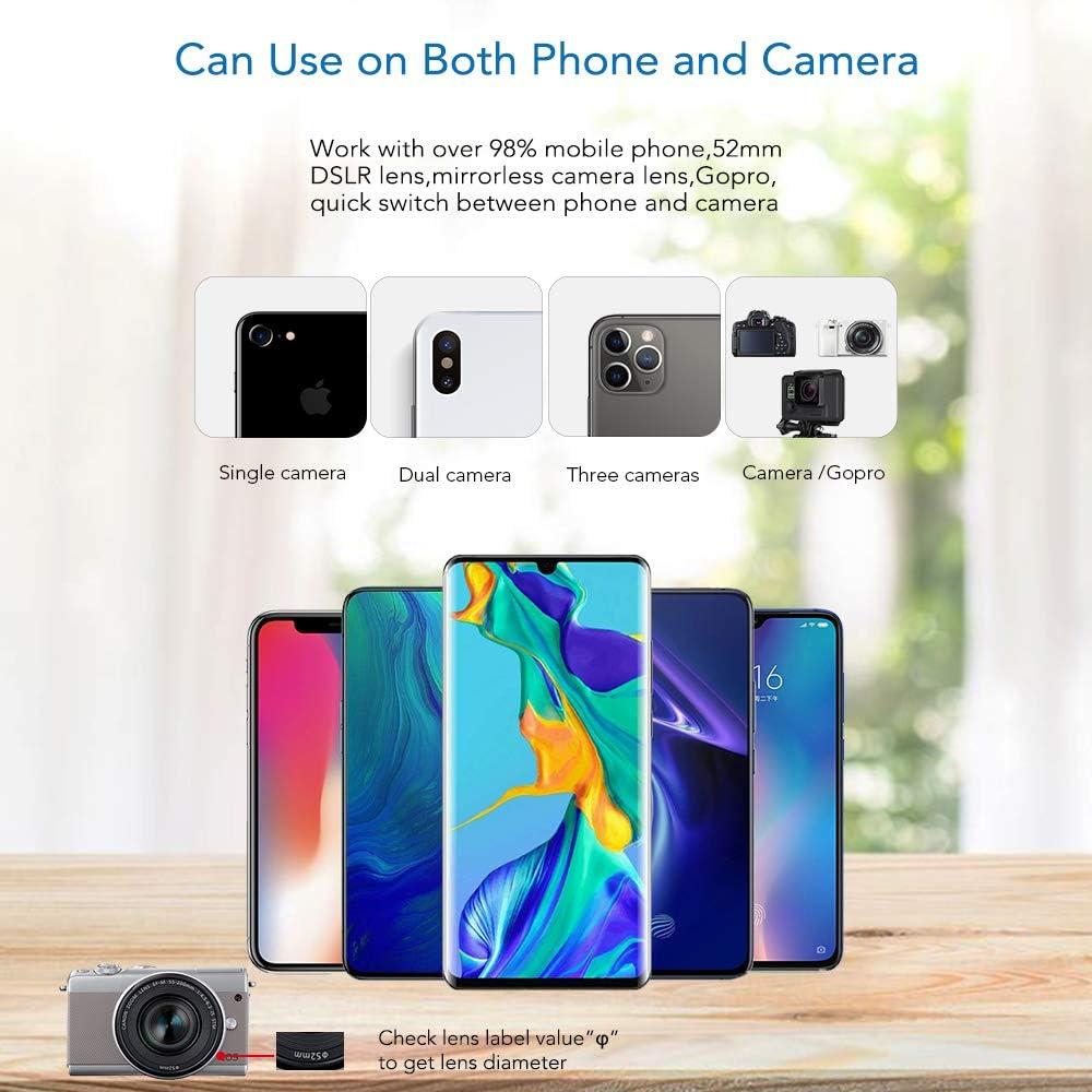120 /°Weitwinkelobjektiv 20x Makroobjektiv//Stativ und Fernausl?Ser f/ür iPhone Samsung 205 /°Fisheye-Objektiv Xiaomi und die meisten Anderen APEXEL Phone Lens Kits-22x Teleobjektiv Huawei