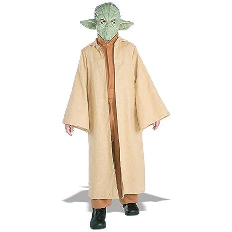 costume carnevale Bambino Yoda Star Wars taglia 5 7 anni M  Amazon ... bf233ee151f