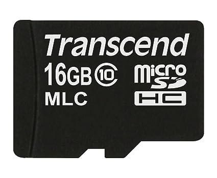 Transcend TS16GUSDC10M - Tarjeta MicroSD de 16 GB (Clase 10 ...