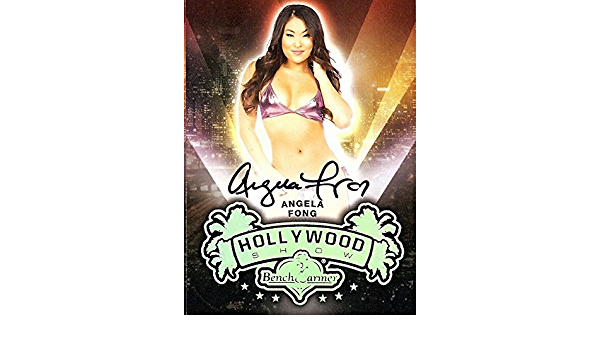 Details about  /2013 Bench Warmer Vegas Baby Autographs #12 Angela Fong