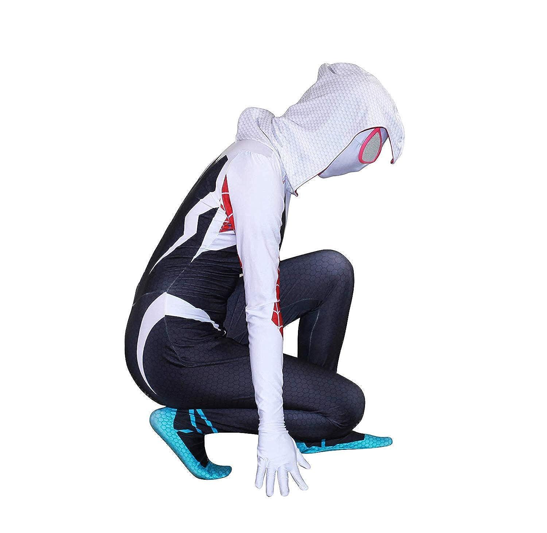Bisika Cos Unisex Lycra Spandex Halloween Cosplay Costumes Bodysuit Adult//Kids 3D Style